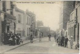 PARIS, La Rue De La Duée, La Poste - District 20