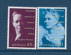 Australie N°1537 à 1538** - 1990-99 Elizabeth II