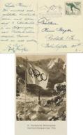 Deutsches Reich 600 Auf Olympia-Karte Werbestempel Winterspiele - Deutschland