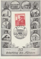 Deutsches Reich 691 Auf Sonderkarte Sonderstempel Berlin - Deutschland