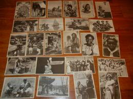 """BELGIQUE :  LOT DE 23 CPA DES """"AUXILIAIRES LAÏQUES DES MISSIONS"""" AFRIQUE, ASIE - Cartes Postales"""