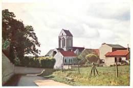 95 - Auvers Sur Oise - L'Eglise - Carte Neuve - Voir Scans Recto-Verso - Auvers Sur Oise