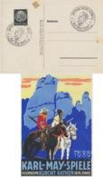 Deutsches Reich 512 Auf Sonderkarte Karl-May-Spiele 1939 - Deutschland