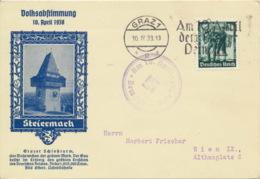 Deutsches Reich 663 Auf Sonderkarte Sonder- Und Werbestempel - Deutschland