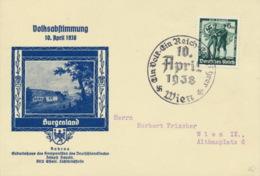 Deutsches Reich 663 Auf Sonderkarte Sonderstempel Wien - Deutschland