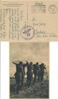 Deutsches Reich Feldpostkarte Werbestempel Wiesbaden - Deutschland