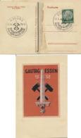 Deutsches Reich 516 Auf Sonderkarte Sonderstempel Essen - Deutschland