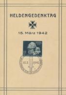 Deutsches Reich 812 Auf Gedenkblatt Sonderstempel Berlin - Deutschland