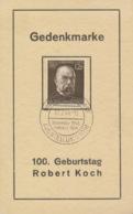Deutsches Reich 864 Auf Sonderkarte Sonderstempel Wien-Messepalast - Deutschland