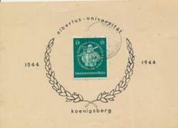 Deutsches Reich 896 Auf Sonderkarte Karte Gefaltet - Deutschland