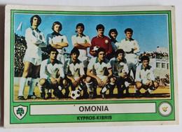 Vignette Autocollante Panini 1978 Football équipe De Levski Omonia Kypros Kibris Chypre Euro Football 78 N°165 - Panini