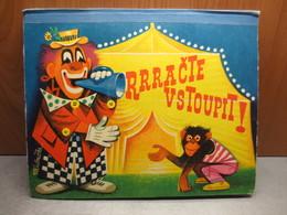 Vojtech Kubasta - Rrracte Vstoupit ( Circus ) - 1968 - Vintage Pop Up Book - Books, Magazines, Comics