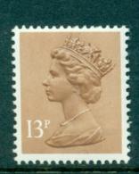 Great Britain 1984 Machin 13p Pale Chestnut 1CB SG X900 MNH - Machins