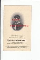 Oorlogsslachtoffer 40-45 , Albert Deru , Gevallen Jemelle 05/09/1944 - Devotion Images