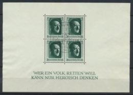 Deutsches Reich Block 7 O Sonderstempel Berlin - Germany