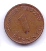 Bank Deutscher Länder 1949 G: 1 Pfennig, KM A101 - [ 7] 1949-… : RFA - Rep. Fed. Alemana
