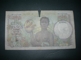 Afrique Occidentale 100 Francs - Autres - Afrique