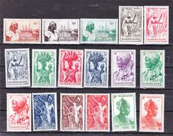 Guadeloupe 197/213 Série Courante Neuf ** TB Mnh Cote 32 - Guadeloupe (1884-1947)