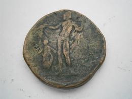 Pièce Ou Jeton A IDENTIFIER Cuivre Bronze épais 28 Mm 22,39 Gr - Monedas & Billetes