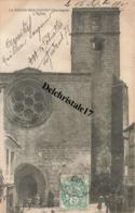CPA 24 LA ROCHE-BEAUCOURT - L'ÉGLISE - ANIMATION PERSONNES - Autres Communes