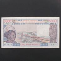 Afrique De L'Ouest, Togo, 5000 Francs 1981T, XF - Benin