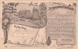 "MARIABURG-EKEREN-BRASSCHAAT-ANTWERPEN ""ST.MARIABURG MARSCH"" - Antwerpen"