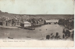 GB - WHITBY - Harbour, Bridge And River - Whitby