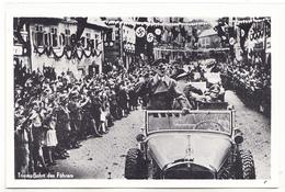 Befreiung Des Sudetenlandes 1938 Triumpffahrt Des Führers Hitler - War 1939-45