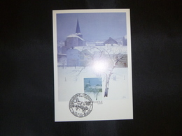 "BELG.1997 2731 Mcard Fdc ( Bruxs )  : "" Kerstmis / Noél  "" - FDC"
