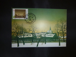 """BELG.1990 2392 Mcard Fdc ( Halle)  : """" Kerstmis / Noél  """" - FDC"""