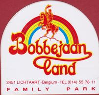 Sticker Autocollant Bobbejaanland Lichtaart Kasterlee Cowboy Funpark Pretpark Bobbejaan Schoepen Aufkleber Adesivo - Autocollants