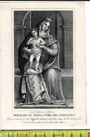 54000 - IMMAGINE DI MARIA DEL CONFORTO - Images Religieuses
