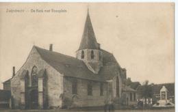 Zwijndrecht - De Kerk Met Voorplein - Zwijndrecht