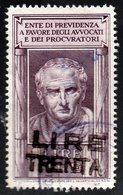 Fiscali - Procuratori E Avvocati - 1900-44 Vittorio Emanuele III