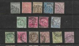 South Africa, CoGH, 15 Used Stamps, Low Denomination, Low Catalogue Value - Kap Der Guten Hoffnung (1853-1904)