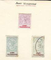 GB  Queen Victoria Army Telegraphs - 1840-1901 (Victoria)