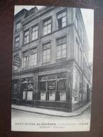 Carte  Façade De Commerce  CAFÉ HOTEL SAINT GEORGES      -LILLE - Lille