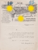Hohenlimburg Vers 1890 Gebr. BONGARDT & Co Acier Aciérie - Allemagne