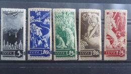 USSR 1935. Anti-war. Full Set Of 5 Stamps. MH (*).Start 1 Euro. Free Shipping - Ungebraucht