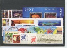 Polynesie Annees Completes (2011) N 935 A 977 Et BF 37 (Luxe) - Komplette Jahrgänge