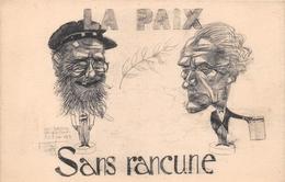 """SAINT-JOACHIM - Fête De La Brière En Juin 1924 """" LA PAIX SANS RANCUNE """" - Illustrateur """" Georges ASTIA """" Caricature - Saint-Joachim"""