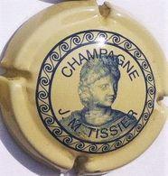 Tissier J. M. N°2, Crème & Bleu - Champagne