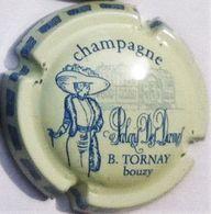 Tornay B. N°3, Crème & Bleu - Champagne