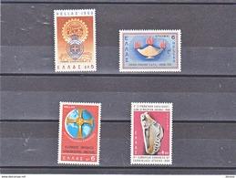 GRECE 1968 Yvert 953 + 964-966 NEUF** MNH - Griechenland
