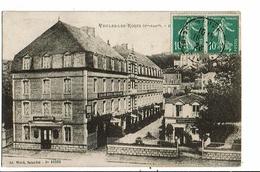 CPA-Carte Postale-France Veules Les Roses- Hôtel Des Bains-1923- VM15835 - Veules Les Roses