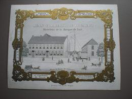 BRUGES - JEAN RORREBORRE BOGAERT - MAGASIN DE BRIQUES - PORCELEINKAART 14.5 X 11 - Brugge