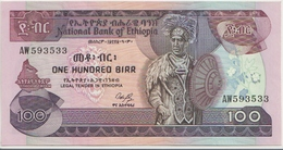 ETHIOPIA P. 40 100 B 1976 AUNC - Ethiopie