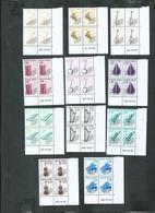 Préoblitéré No 213a/214 à 223 ** Bloc De 4 Coin Daté; Cote 223€ - 1989-....