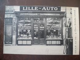 Carte Façade De Commerce  Lille Auto 4, Place Richebé   -LILLE - Lille