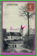 CPA - 28 - TRIZAY - LePerche Pittoresque L'Eglise - Animé Enfant - Frankrijk